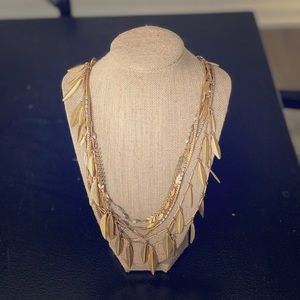 Stella & Dot versatile gold necklace
